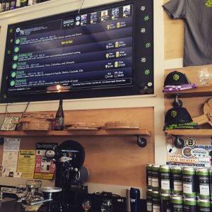 Garrison City's Tasting Room, merch and 'Crowlers'