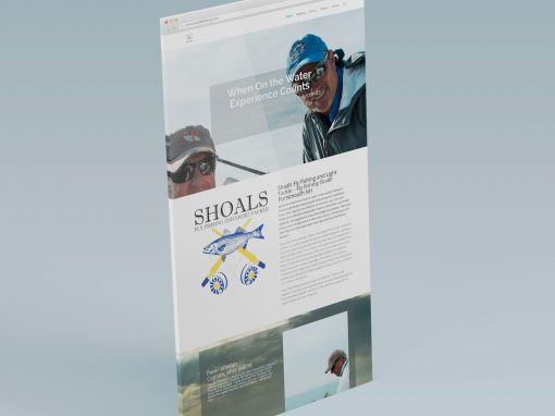 Shoals Fishing Website Design