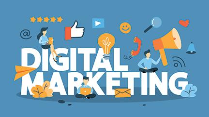 thirst productions website  digital marketing